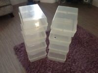 Storage boxes for shoes