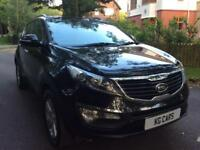 2012 Kia Sportage 1.7CRDi x2 pan roof leather FSH BUY FOR £38 PER WEEK