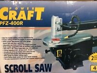 SCROLL SAW. Never been used.