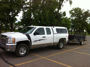 Truck topper for full size pickup