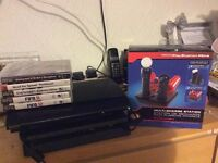 Sony PlayStation 3 PS3 with controller and games