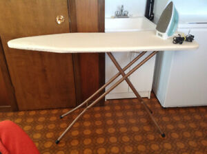 Black & Decker Iron and Ironing Board-Great Condition