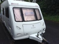 4 berth Caravan Elddis Avante 524 end bathroom single axle