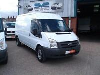 10REG FORD TRANSIT RWD 350 LWB SEMI HIGH / MED ROOF 100BHP VERY LOW 38000 MILES