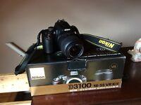 Nikon D3100 18-55 lens