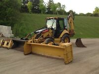 2010 Cat 420E IT with attachments