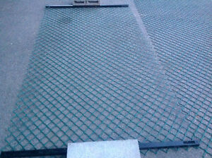 "135 ft. Long X 48"" high green safety fence material - like new"