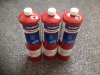Propane gas tanks/cylinder for torches x 3