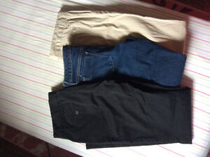 Women's clothing size small-medium pants, sweaters