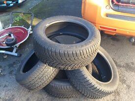 Dunlop SP winter Tyres 225 / 55 R17