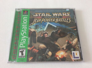 Star Wars *Jedi Power Battles* (Episode One) PS One (New\Sealed)