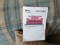 Parker Knoll large two seater sofa