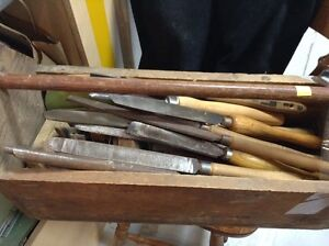 Lathe Chisels and files Fonthill Restore