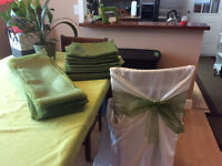 Wedding / Event Linens for sale .. cheaper than renting