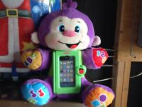 Fisher Price Laugh & Learn Apptivity Monkey