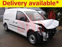 2016 VW Caddy Maxi C20 Startline 1.6 DAMAGED REPAIRABLE SALVAGE