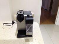 Nespresso delonghi lattisima coffee machine