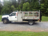 2008 f450diesel aluminum deck rear lift new MVI SAVE $ REDUCED