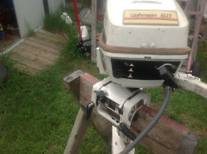 6 HP outboard