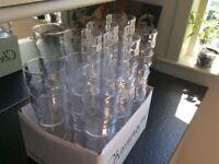 45 unbranded pint glasses