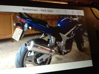 2002 52 plate Suzuki SV 650s just tested full 12Months + £1200