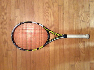 Babolat Aeropro Team Tennis Racquet Great Condition