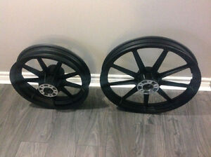 9 Spoke Black HD Rims for Sportster & Dyna, Shipping Available