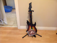 Guitare Hero pour play station 3