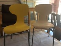 Retro chairs 70s dining chair bargain