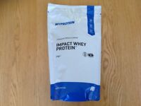 My Protein Impact Whey Protein Powder New 1kg Sealed Chocolate Flavour MYPROTEIN