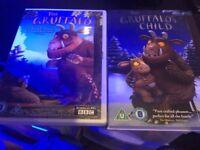 The gruffalo and the gruffalos child dvd like new