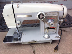 """"""" Dial-A-Stitch"""" Sewing machine - good working condition"""