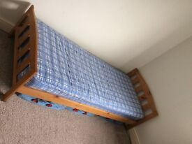 Mothercare Single/Toddler Pine Bed