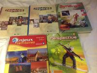 School books in french sec 1,2,3 (College Villa Maria)
