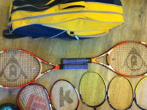 Tennis squash badminton racquets Prince George British Columbia image 5