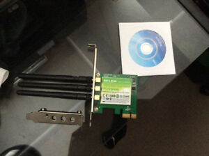 TP-LINK N900 WIRELESS PCIE NETWORK CARD