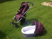 Icandy buggy and carrycot