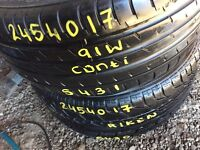 TYRE SHOP 245/40/17 205/45/17 205/55/17 215/50/17 205/40/17 used partworn tyres