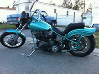 SOLID 'OL HARLEY DAVIDSON PAN/SHOVEL (NEED IT GONE A.S.A.P.)