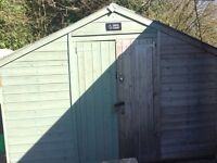 20' x 10' wooden shed