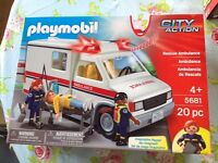 Playmobil City Action Ambulance, brand new in box