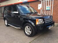 LAND ROVER DISCOVERY 3 TDV6 7 SEATER 58 PLATE