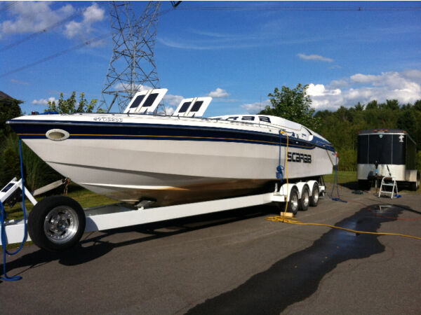 Used 1990 Wellcraft Marine Corp scarab thunder 34