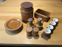 Vintage Hornsey Saffron Pottery - various items