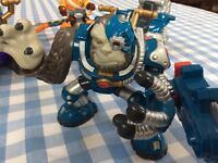 Early Learning Centre - Planet Protector characters - collection inc baddies