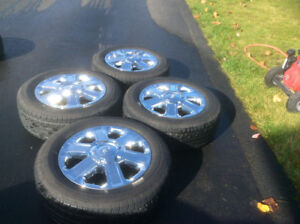 Set of Toyota Tundra Tires and Rims