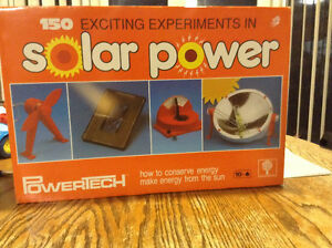 150 EXCITING EXPERIMENTS IN SOLAR POWER NEUF