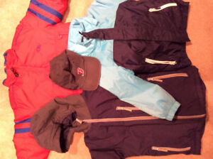 **25 Items Boy Clothing Size 5 Including 2 Winter Jackets**