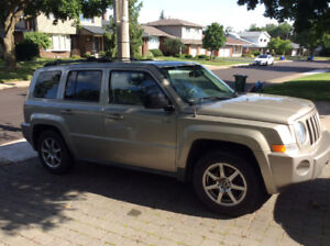 2010 Jeep Patriot front wheel drive