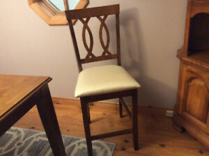 8 Pub height  chairs